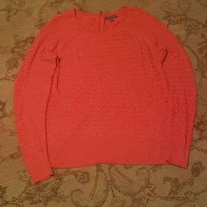AE red sweater